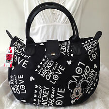 DISNEY MICKEY MOUSE Handbag Clutch Purse Tote Shopper Bag W 30 x H 22 cm (S).