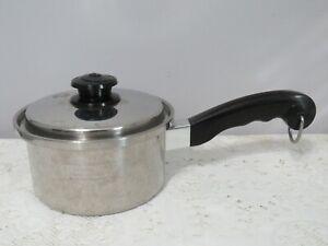Saladmaster 1 1/2 Quart Saucepan w/Vapo Lid - T304S Stainless Steel