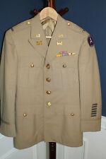 Choice Original WW2 U.S. Army Engineer Officer Uniform Jacket w/Insignia & Pants