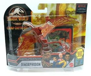 "Jurassic World DIMORPHODON Attack Pack Dinosaur Figure 7"" Inch Scale Toy Mattel"