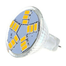 SODIAL(R)7W MR11 GU4 600LM LED Birne Lampe 15 5630 SMD Warmweiss Licht ET