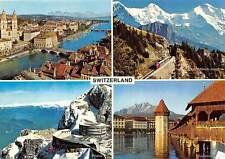 Switzerland Pilatus Cable Car Lift Luzern Tower Bridge Zurich Eiger Monch Train