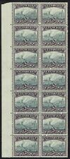 SOUTH AFRICA 1933 UNION BUILDINGS 2D GREY & DULL PURPLE MNH ** BLOCK HYPHENATED
