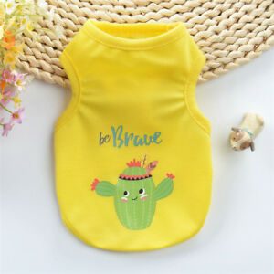XXXS/XXS/XS Small Teacup Dog Shirt Puppy Cat Clothing for Chihuahua Yorkshire