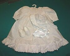 "NEW ADORA 20"" TODDLER/BABY BLESSINGS SMOCKED CHRISTENING OUTFIT"