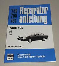 Reparaturanleitung Audi 100 C3 - CC, CS, CD - ab 1983!