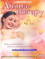 AROMATHERAPY - Natural Remedies Relaxation Health Well Being DVD (NEW SEALED)