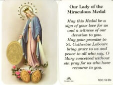 Our Lady of the MIraculous Medal Prayer Card