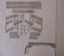 P&D Marsh N Gauge N Scale B23 LMS Lattice footbridge kit requires painting