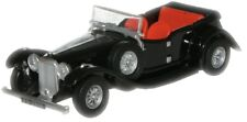 Oxford 76ALV001 Alvis Speed 20 - Black 1/76 Scale = 00 Gauge - Tracked 48 Post