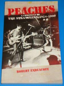 PEACHES: CHRONICLE OF THE STRANGLERS 1974-1990 - Endeacott - rare softback book