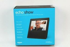 New Amazon Echo Show 1st Generation Smart Speaker With Alexa White QQQ 1198