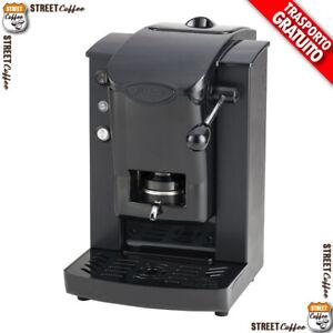 MACCHINA CAFFE FABER SLOT PLAST 2018 CIALDE ESE CARTA 44mm Nero / Nero