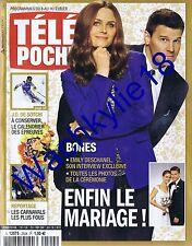 Télé Poche n°2504 du 08/02/2014 Bone Emily Deschanel