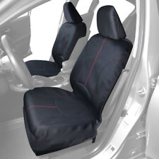Waterproof Neoprene Car Seat Cover Set Sweat Headrest Covers Protection Gym Yoga