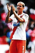 Football Photo>TOMASZ CYWKA Blackpool 2014-15