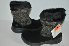 NEW NWT CROCS COZYCROCS BOOTIE BOOTS CHARCOAL / BLACK 5 6 WOMEN