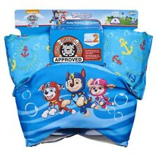 SwimWays Swim Trainer Squirter Life Jacket Uscg Approved Paw Patrol Chase New