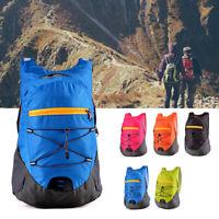 Ultralight Waterproof Nylon Backpack Shoulder Hiking Travel Folding Outdoor Bag