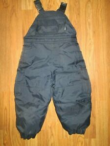 LONDON FOG water resistant insulated  ski snow bibs pants 24 months