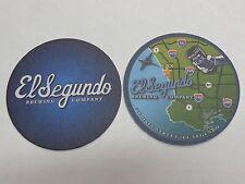 Beer Coaster ~*~ EL SEGUNDO Brewing Co ... Minutes from LAX ~ Los Angeles, CALIF