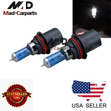 9004 55w Halogen Xenon Headlight Replacement 2x Light Bulb Lamp 6000K White