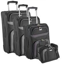 Travelite Orlando 2-wheels Trolley suitcase luggage set 4 pcs. 28.5 cm (schwarz)