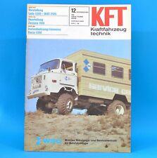 DDR KfT Kraftfahrzeugtechnik 12/1981 Lada 1300 Zastava 1100 Suzuki Alto Fiat 72