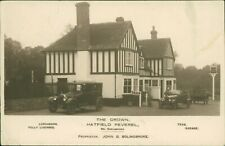 Crown Pub, Hatfield Peverel. 1927. Vintage Cars - Margaret Monument  QX.302