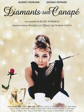 Affiche Pliée 40x60cm DIAMANTS SUR CANAPÉ /BREAKFAST AT TIFFANY'S Hepburn R2013