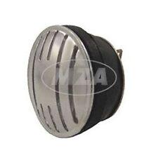 Hupe, Signalhorn für Gleichstrom 6V und 12V - mit Alublende Simson Schwalbe