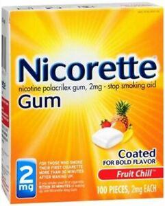 Nicorette Fruit Chill 2mg Gum - 160 Count