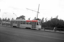 PHOTO  BELGIUM TRAM 1958  BRUXELLES-BRUSSEL STIB PCC TRAM CAR BY BOTANIC GARDENS