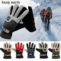 Men Women Winter Ski Windproof Thermal Glove Cycling Bicycle Motorcycle Glove