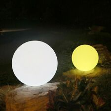 Outdoor Solar LED Color-Changing Floating Ball Night Light Landscape Yard Lamp B
