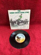 DAVID PROWSE signed Green Cross Code Song Vinyl Schallplatte