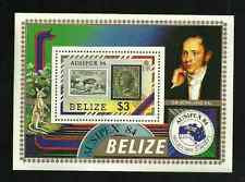 BELIZE MINT SOUVENIR SHEET 1984 - AUSIPEX STAMP EXHITION '84