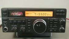 YAESU FT-840 HF Ham Amateur Radio Transceiver w/ Manual and Microphone