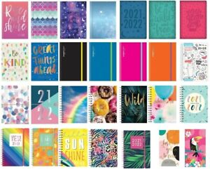 2021 2022 A5 Academic Diary Mid Year Week to View Day A Page Student School