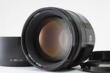 【Excellent+++】Minolta AF 85mm F/1.4 For Sony α A Minolta w/ Hood from Japan 1227