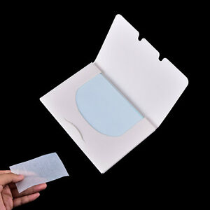 100 Sheets Make Up Oil Control Oil-Absorbing Blotting Facial Face Clean Paper Fc