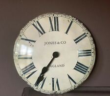 Vintage Style Jones & Co Large Wall Clock Battery NEW in box