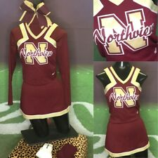 Real Cheerleading Uniform Vintage Youth L 6pc