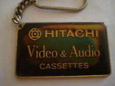 PORTE CLES HITACHI VIDEO AUDIO CASSETTES ELECTRO MENAGER SAINT DENIS