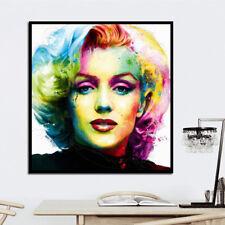 Lienzo Óleo Pintura Patrice Colorido Marilyn Monroe Decoración Pared de Salón