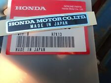 HONDA FRAME NAME PLATE DECAL EMBLEM CB125 CB175 CD175 CB250 CB400 CB550 CB750