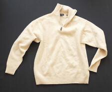 McNeal Cardigan collo sciallato uomo lavorazione a maglia Pullover Maglione Cotone L