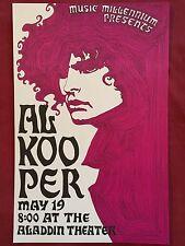 AL KOOPER Original Concert Poster Gig Flyer Portland