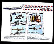TRINIDAD & TOBAGO - BF - 1977 - 50 anni di posta aerea