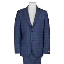 BNWT mens Stunning DKNY Wool 2 piece suit  check 42R W36 L31-34 RRP £290